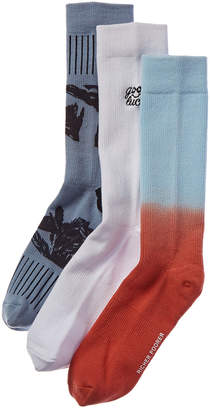 Richer Poorer Pack Of 3 Socks