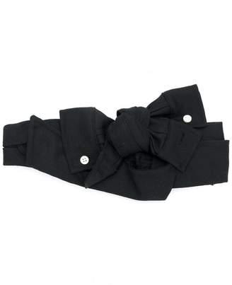 CA4LA bow-tied headband