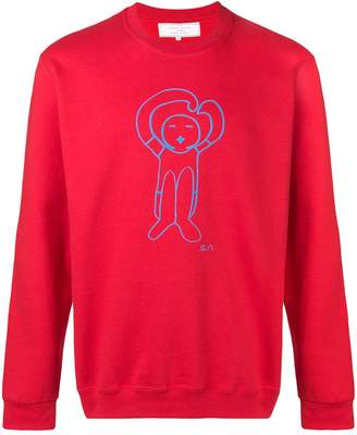 Societe Anonyme logo print sweatshirt