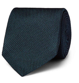 Drakes Kingsman + Drake's 8cm Silk-grenadine Tie