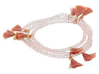 Shashi Laila Crystal Wrap Bracelet