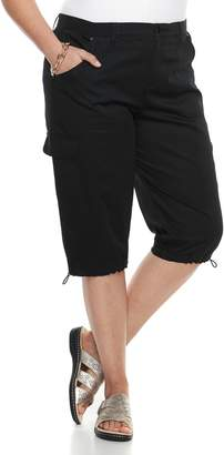 Croft & Barrow Plus Size Utility Skimmer Capris