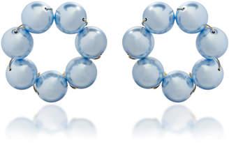 Crystal Pearl Beck Jewels Le Margherite Swarovski Earrings