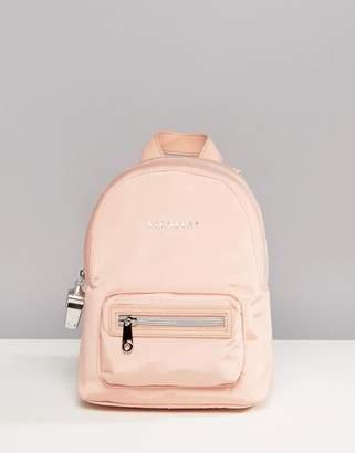 Fiorelli Sport Strike Mini Nylon Backpack in Blush