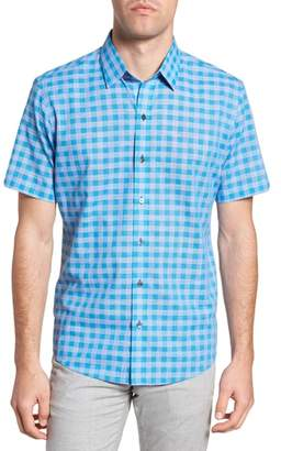 Zachary Prell Ruder Regular Fit Check Sport Shirt