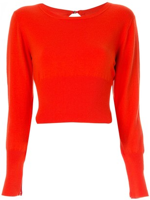 Dion Lee lingerie hook sweater