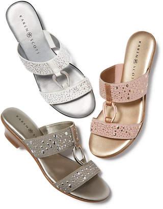 Karen Scott Eanna Sandals, Created for Macy's Women's Shoes