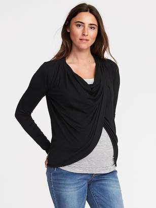 Old Navy Maternity Open-Front Nursing Cardi