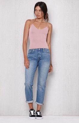 Levi's 501 CT Stretch Cropped Jeans $64.50 thestylecure.com