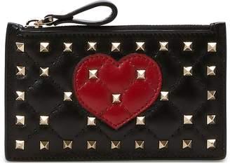 Valentino Gavarani Spike heart purse