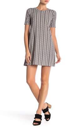 BCBGeneration Printed Knit A-Line Dress