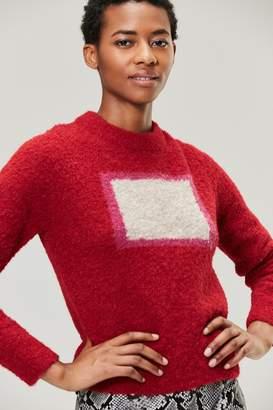 Veda Modern Sweater Crimson