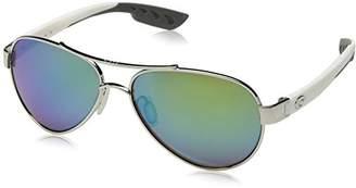 Costa del Mar Loreto Sunglasses Palladium w/White/ lass