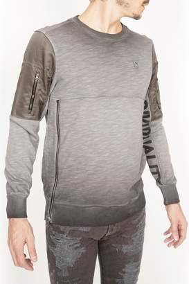 Cult of Individuality Charcoal Pullover Sweater