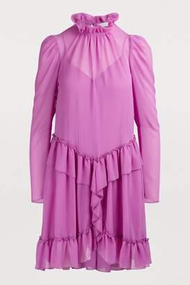 See by Chloe Ruffled mini dress