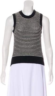 J Brand Striped Knit Top