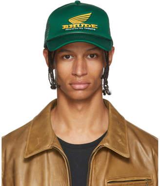 Rhude Green Rhonda Trucker Cap