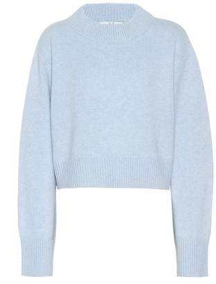 Co Cropped cashmere sweater