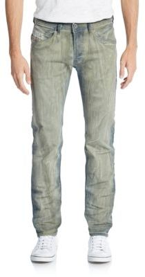 Diesel Slim-Fit Belther Straight-Leg Jeans