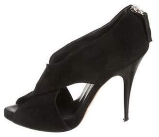 Barneys New York Barney's New York Suede High-Heel Sandals