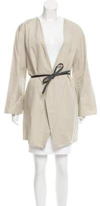Hache Belted Open Front Jacket w/ Tags