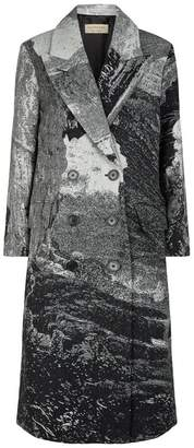 Burberry Wool Dreamscape Print Coat