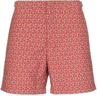 Bulldog Garda print swim shorts