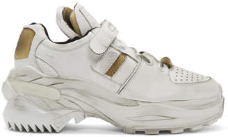 Maison Margiela White Artisanal Sneakers