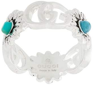 Gucci double G flower ring