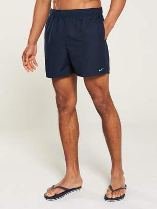 4273d9b010e Nike Swim Solid Lap 5 Inch Swim Shorts - Obsidian