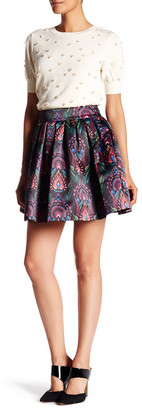 alice + olivia Box Pleat Skirt $330 thestylecure.com