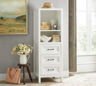 Pottery Barn Sussex 3-Drawer Nightstand & Hutch