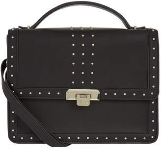 Harrods Larch Studded Shoulder Bag
