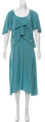 Alexander Wang Short Sleeve Bodycon Mini Dress