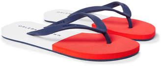 Orlebar Brown Haston Two-tone Rubber Flip Flops