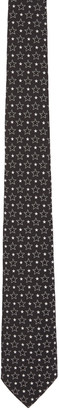 Givenchy Black Big & Small Stars Tie $295 thestylecure.com