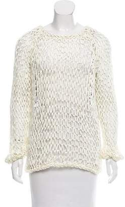 Kimberly Ovitz Braided Long Sleeve Top