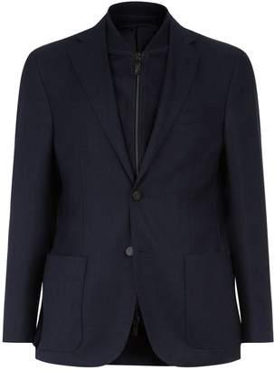 Corneliani Suede Insert Jacket