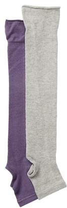 Yummie by Heather Thomson Cutout Leg Warmers - Pack of 2