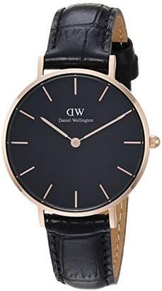 Daniel Wellington Women's Analogue Quartz Watch with Leather Strap DW00100167