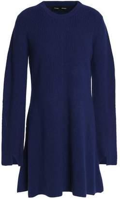 Proenza Schouler Flared Wool And Cashmere-Blend Mini Dress