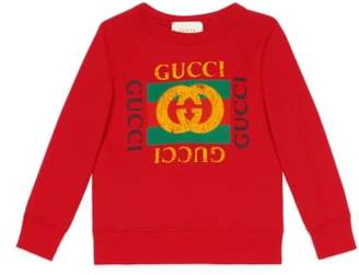 Gucci Logo Graphic Sweatshirt