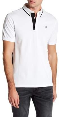 AG Jeans DKD Short Sleeve Contrast Logo Polo