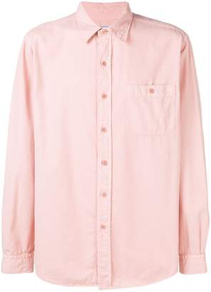 Ami Alexandre Mattiussi Classic-wide Fit Shirt With Buttoned Chest Pocket