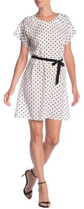 Haute Rogue Polka Dot Dress