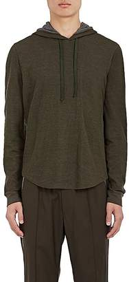 Vince Men's Double-Faced Cotton-Wool Hoodie