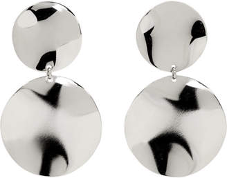 Isabel Marant Silver Petals Earrings