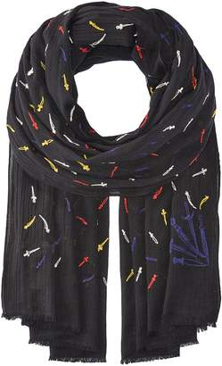 Rag & Bone Embroidered Dagger Scarf Scarves