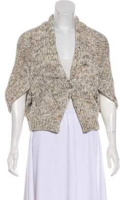 Brunello Cucinelli Knit Short Sleeve Cardigan