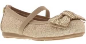 Stuart Weitzman Toddler Girls Fannie Chain Glitter-t Dress Shoe